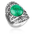 Pierścionki i obrączki, Ring, Alloy Steel, Synthetic Stone