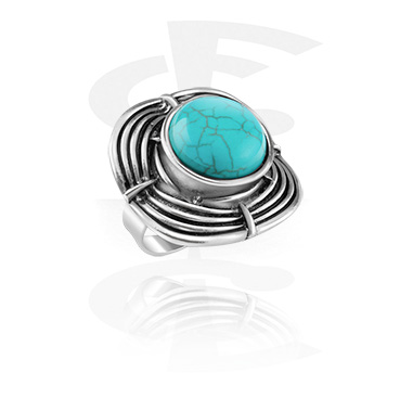 Rings, Ring, Alloy Steel, Synthetic Stone