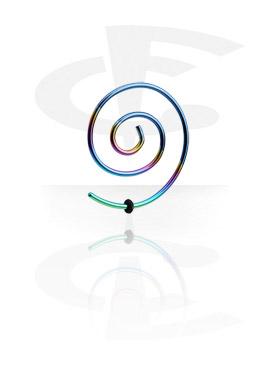 Dehnungszubehör, Eloxierte Wire Spirale, Chirurgenstahl 316L