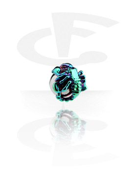 Anodized Scorpion for Ball Closure Rings