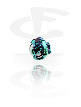 Eloxierter Skorpion für Ball Closure Ringe