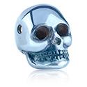 Kulki i inne zakończenia, Anodized Skull for Ball Closure Rings, Surgical Steel 316L