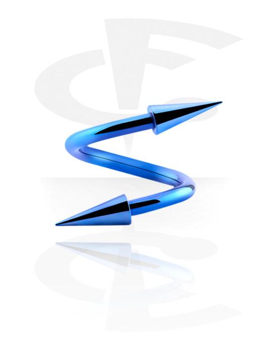 Spirály, Anodized Spiral, Chirurgická ocel 316L
