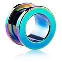Tunely & plugy, Anodized Flesh Tunnel, Surgical Steel 316L