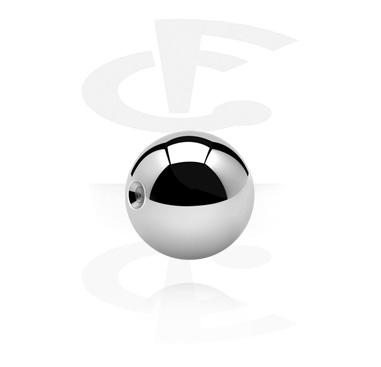 Pallot ja koristeet, Pallo ball closure-renkaaseen, Kirurginteräs 316L
