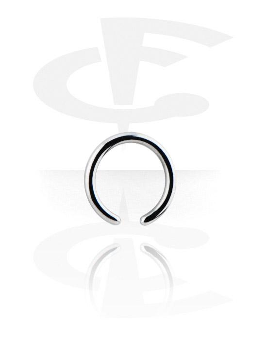 Кольцо для пирсинга без застежки