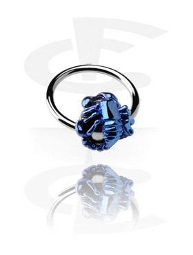 Ball Closure Ring con Anodised Scorpion