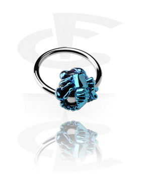 Ball Closure Ring with Anodised Scorpion