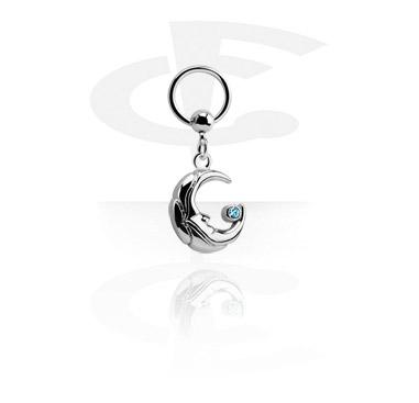 Ball Closure Ring com pendente