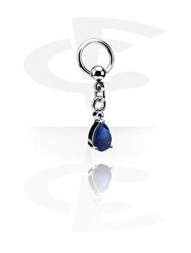 Ball Closure Ring avec Charm