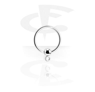 Ball closure ring avec œillet