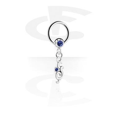Ball closure ring avec pendentif
