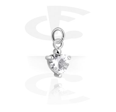 Balls & Replacement Ends, Charm, Plated Brass