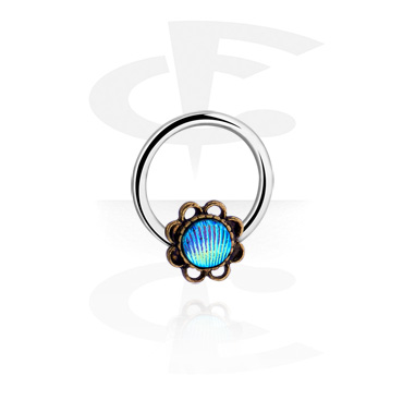 Piercing Rings, Ball closure ring, Surgical Steel 316L