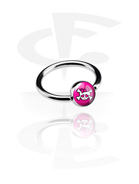 Picture Ball Closure Ring