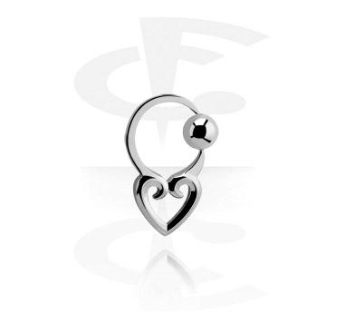 Alke za piercing, Ball Closure Ring, Surgical Steel 316L