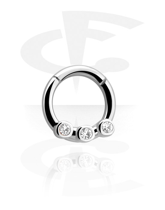 Hinged Septum Clicker Surgical Steel 316l Crazy Factory Online