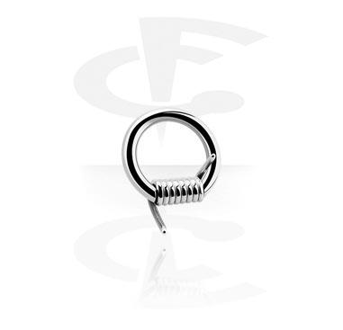 Piercing Ringe, Stacheldraht-Closure-Ring, Chirurgenstahl 316L