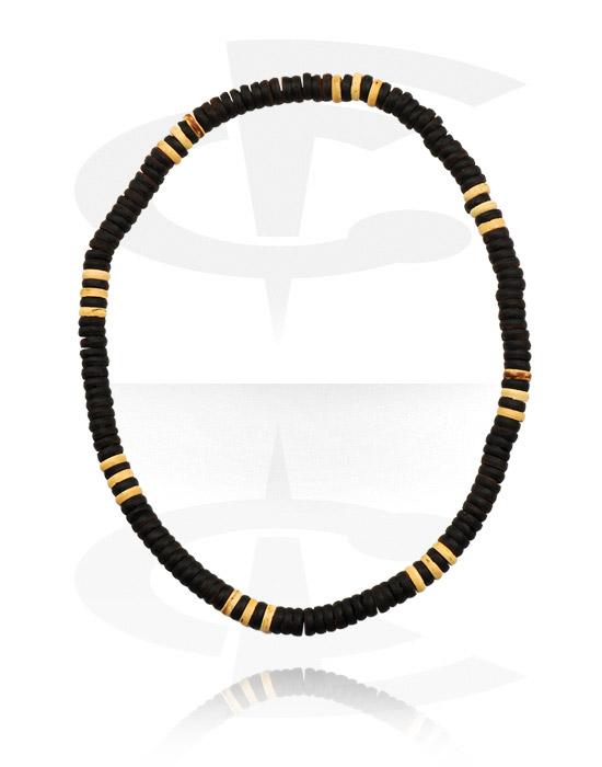 Naszyjniki, Fashion Necklace, Materiały organiczne