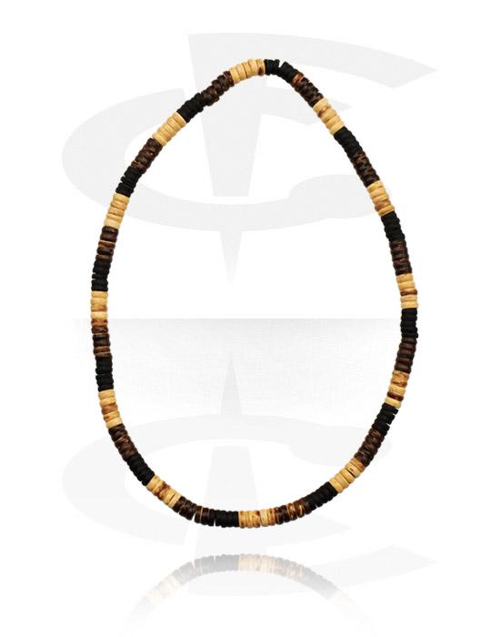 Halsketten, Modische Halskette, Organisches Material