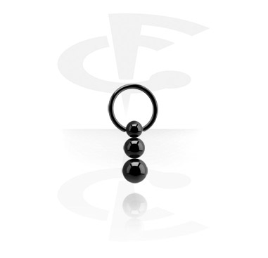 Black BCR with Triple Ball