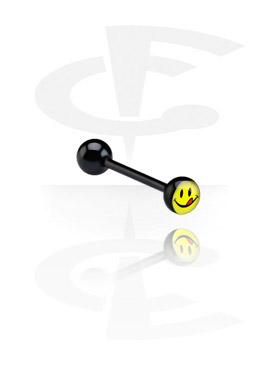 Barbell nero con disegno