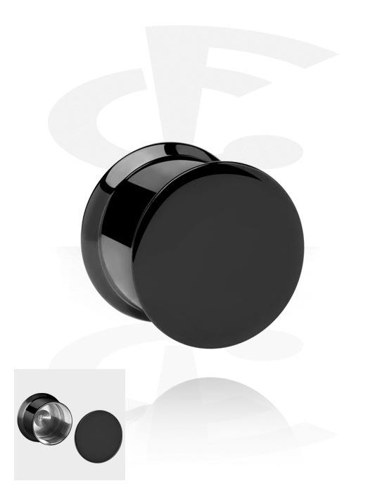 Tunele & plugi, Box Plug, Stainless Steel