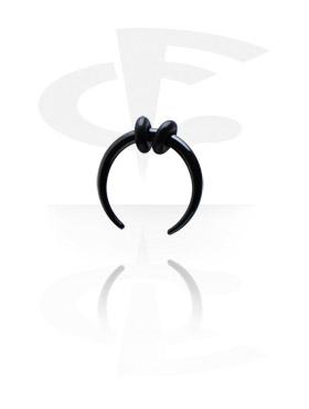 Schwarzer Circular Claw