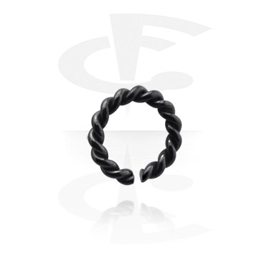 Kółka do piercingu, Continuous ring, Surgical Steel 316L