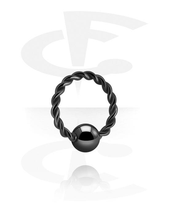 Renkaat, Ball closure ring kanssa fixed ball, Kirurginteräs 316L