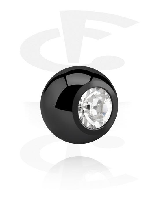 Kulki, igły i nie tylko, Ball z crystal stone, Stal chirurgiczna 316L