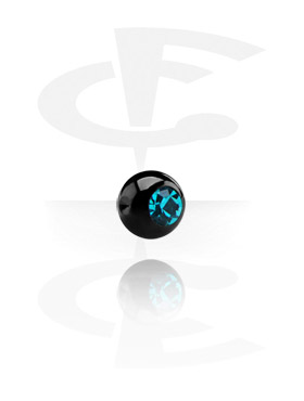 Black Clip-In Ball for Ball Closure Rings
