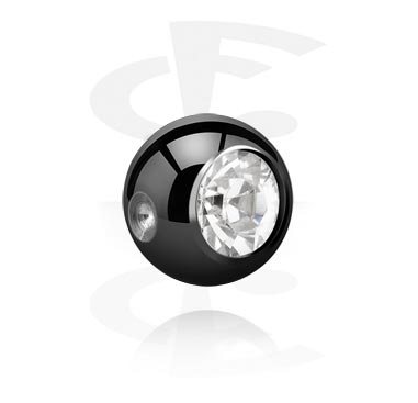 Black Jeweled Balls for BCR