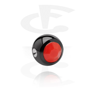 Black Ball for Ball Closure Rings