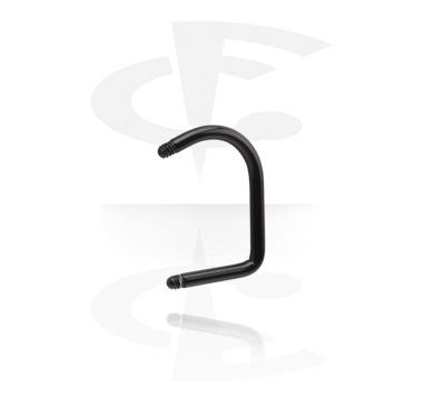 Black Lip Hoop Pin
