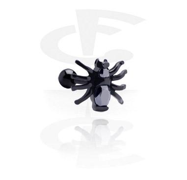 Zwarte Traguspiercing