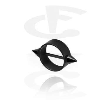 Black Nipple Shield with Cones