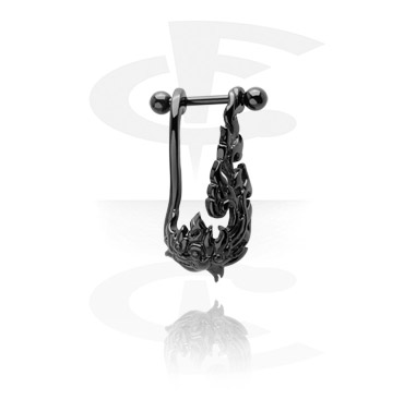 Helix / Tragus, Helix Piercing, Kirurgiskt stål 316L