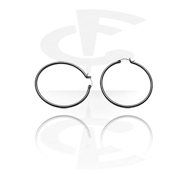 Black Ear Hoop