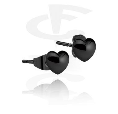 Boucles d'oreilles en acier