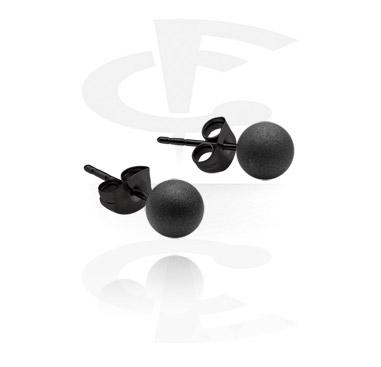 Black Ear Studs