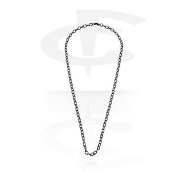 Zwarte halsketting