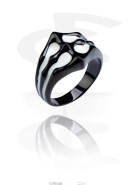 Black Steel Cast Ring