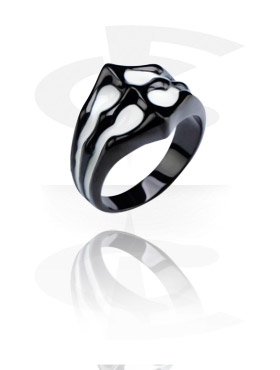 Black Steel Cast Ring