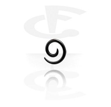 Black Steel Spiral