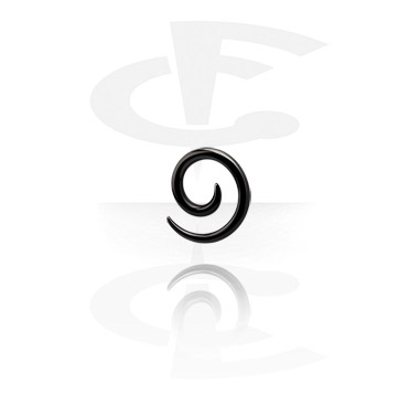 Spirale dilatante nera