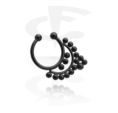 Zwarte Fake Septum
