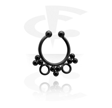 Fake Septum preto