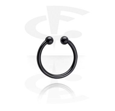 Black Fake Nose Ring