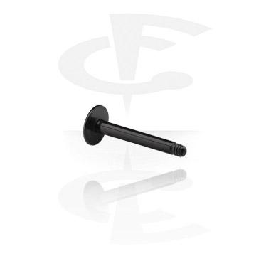 Black Labret Pin